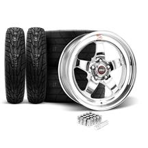 Mustang Weld RT-S Wheel & Tire Kit - 18x5/17x10 (05-17)