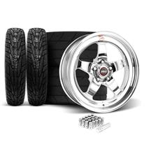 Mustang Weld RT-S Wheel & Tire Kit - 17x5/17x10 (05-17)