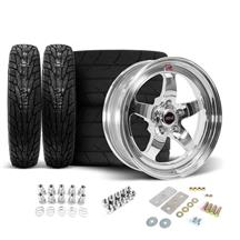 Mustang Weld RT-S Wheel & Tire Kit - 17x5/15x10 (05-14)