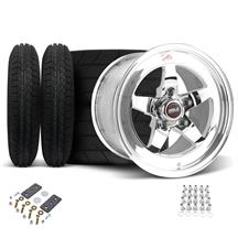 Mustang Weld RT-S Wheel & Tire Kit - 15x4/15x10 (05-10)