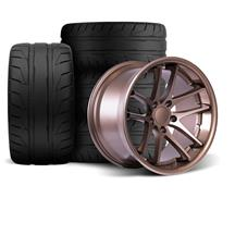 Mustang Rovos Cape Town Wheel & Tire Kit- 18x9/10  - Satin Bronze - NT05 Tires (94-04)