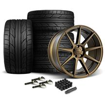 Mustang Velgen VMB9 Wheel & NT555 G2 Tire Kit - 20x9/10.5 Bronze (15-20)