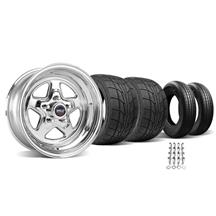 Mustang Weld Pro-Star Wheel & Tire Kit - 15X3.5/8 (94-04)