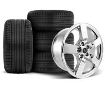 F-150 SVT Lightning Wheel & Tire Kit - 20x9 Chrome (99-04)