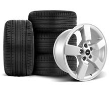 F-150 SVT Lightning Wheel & Tire Kit - 20x9 Silver (99-04)