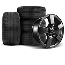 F-150 SVT Lightning Wheel & Tire Kit - 20x9 Matte Black (99-04)