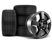 F-150 SVT Lightning Wheel & Tire Kit - 20x9 Gloss Black (99-04)