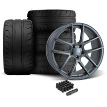 Mustang Velgen VMB5 Wheel & Tire Kit - 20x9/10.5  - Matte Gunmetal - NT05 Tires (05-14)