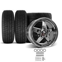 F-150 SVT Lightning Race Star Dark Star Wheel & Tire Kit - 17x7/10.5  - M/T ET Street Tires (93-...
