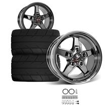 F-150 SVT Lightning Race Star Dark Star Rear Wheel & Tire Kit - 17x10.5  - MT ET Street S/S Tire...