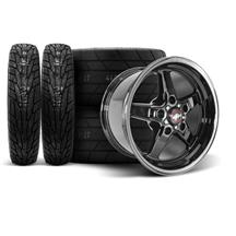 F-150 SVT Lightning Race Star Dark Star Wheel & Tire Kit - 17x4.5/10.5  - Direct Drill - M/T Tir...