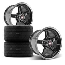 F-150 SVT Lightning Race Star Rear Dark Star Wheel & Tire Kit  - Direct Drill (00-04)