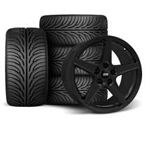 Mustang Saleen Wheel & Tire Kit - 18x9 Black (94-04)