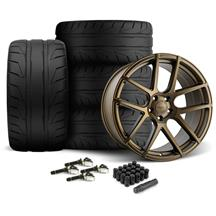 Mustang Velgen VMB5 Wheel & Nitto NT05 Tire Kit - 20x9/10.5  Bronze (15-17)
