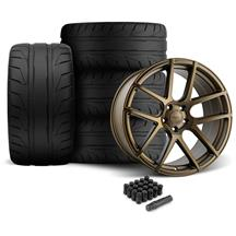 Mustang Velgen VMB5 Wheel & Tire Kit - 20x9/10.5  - Bronze (05-14)