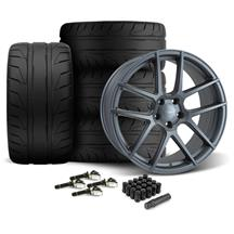 Mustang Velgen VMB5 Wheel & Tire Kit - 20x9/10.5   - Matte Gunmetal - NT05 Tires (15-19)