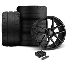 Mustang Velgen VMB5 Wheel & Tire Kit - 20x9/10.5  - Satin Black - NT05 Tires (05-14)