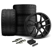 Mustang Velgen VMB5 Wheel & Tire Kit - 20x9/10.5   - Satin Black - NT05 Tires (15-19)