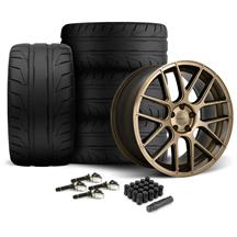 Mustang Velgen VMB7 Wheel & Nitto Nt05 Tire Kit - 20x9/10.5  Bronze (15-17)