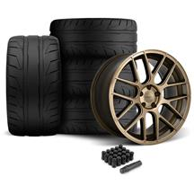 Mustang Velgen VMB7 Wheel & NT05 Tire Kit - 20x9/10.5 Bronze (05-14)