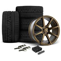 Mustang Velgen VMB8 Wheel & Nitto Invo Tire Kit - 20x9/10.5 Bronze (15-17)