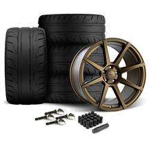 Mustang Velgen VMB8 Wheel & Nitto NT05 Tire Kit - 20x9/10.5 Bronze (15-17)