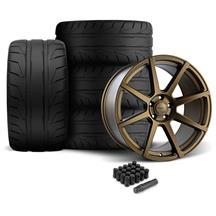 Mustang Velgen VMB8 Wheel & NT05 Tire Kit - 20x9/10.5 Bronze (05-14)