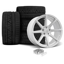 Mustang Velgen VMB8 Wheel & Nitto Invo Kit Silver (05-14)