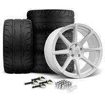 Mustang Velgen VMB8 Wheel & Nitto NT05 Kit Silver (15-17)