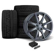 Mustang Velgen VMB8 Wheel & Nitto Invo Kit Gunmetal (05-14)