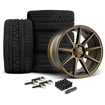 Mustang Velgen VMB9 Wheel & Nitto Invo Tire Kit - 20x9/10.5 Bronze (15-20)