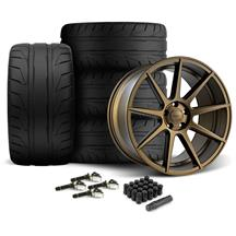 Mustang Velgen VMB9 Wheel & Nitto Nt05 Tire Kit - 20x9/10.5 Bronze (15-20)