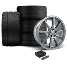 Mustang Velgen VMB9 Wheel & Nitto NT05 Tire Kit Gunmetal (05-14)
