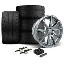 Mustang Velgen VMB9 Wheel & Nitto NT05 Tire Kit Gunmetal (15-20)