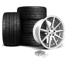 Mustang Velgen VMB9 Wheel & Tire Kit Silver (05-14)