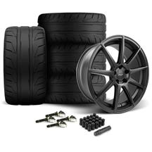 Mustang Velgen VMB9 Wheel & Nitto NT05 Tire Kit Black (15-20)
