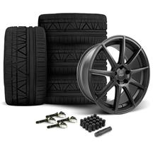 Mustang Velgen VMB9 Wheel & Nitto Invo Black (15-20)